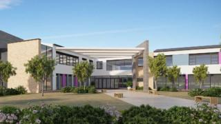 An artist's impression of the Pembroke Learning Campus