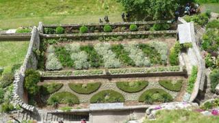 Сад на горе Святого Михаила