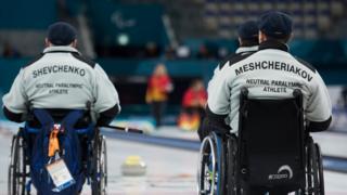 ورزشکاران روسی