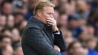 Koeman est le troisième entraîneur de Premier League renvoyé cette saison.