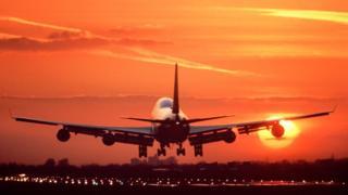Un Boeing 747.