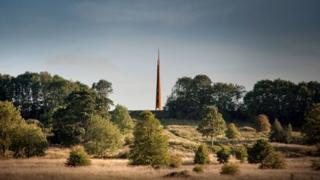 Memorial spire