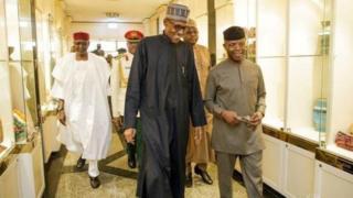Shugaba Buhari ya kwashe sama da kwana 100 yana jinya a London