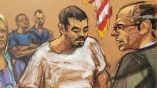 Ruslan Maratovich Asainov appears before a court in New York