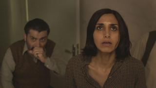 Ray Haratian and Narges Rashidi in Under the Shadow