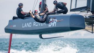 The tech helping Sir Ben's 'flying' boat go even faster