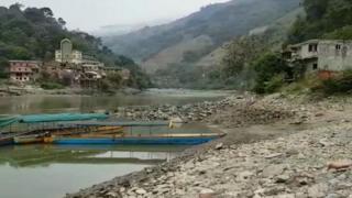 El río Cauca a su paso por Antioquia