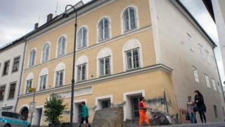 дом, где родился Гитлер