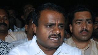 கர்நாடக முதல்வர் குமாரசாமி