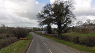 The A5118 at Llong