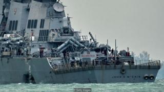 Vụ tàu John S McCain của Mỹ chỉ là sự cố mới nhất về va chạm tàu trên biển