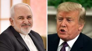 ترامپ جنگ شود، پایان کار ایران است؛ ظریف: اسکندر و چنگیز هم نتوانستند