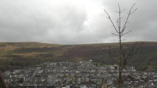 Rhondda valley housing