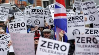 Protesters call for more to be done to tackle anti-Semitism