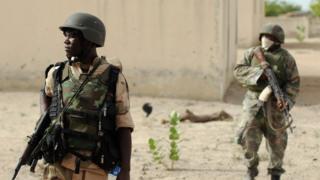 Sojoji masu yakar Boko Haram
