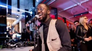 Tobi Ibitoye singing