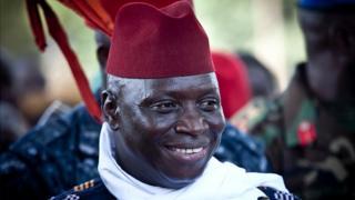 Le président Yahya Jammeh a contesté les résultats de l'élection après les avoir accepté