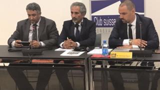 ندوة للفيدرالية العربية لحقوق الإنسان في نادي الصحافة السويسري في جنيف