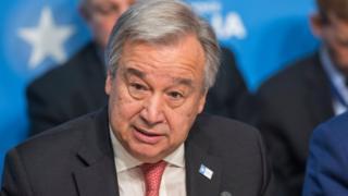 Antonio Guterres a demandé au Conseil de sécurité d'augmenter de 900, le nombre de soldats déployés par la mission Onusienne en Centrafrique.