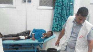 پزشکان بدون مرز میگوید بیشتر زخمیها نوجوان هستند