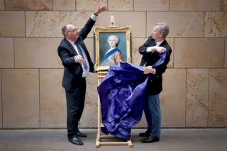 Bonnie Prince Charlie portrait is unveiled