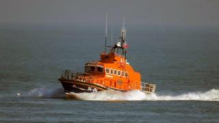 Alderney Lifeboat Roy Barker I