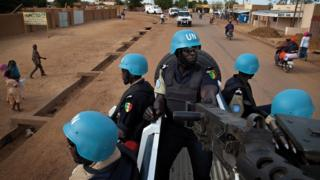 Peacekeepers in Mali