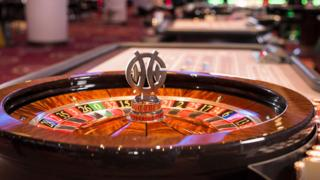 A roulette wheel at a Genting Casino