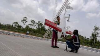 Le premier centre de drones a été ouvert cette semaine à Omenako, à 70 km d'Accra.