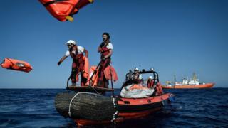 Plus de 1000 personnes sont mortes en Méditerranée en 2018.