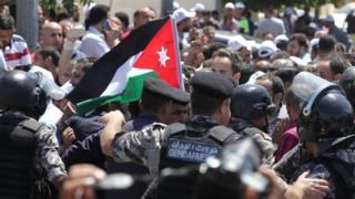 مظاهرات المعلمين في عمان 5 سبتمبر/أيلول