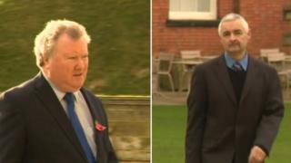 Richard Gilliland and Stephen Davies,