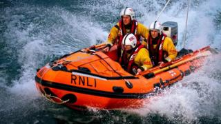 Looe Class D inshore lifeboat