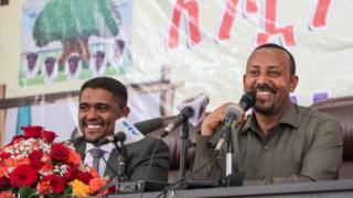 MM Abiy Ahimadiifi Pirezidantii Itti - aanaa Oromiyaa Obbo Shimallis Abdiisaa