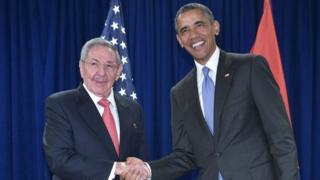Obama & Castro