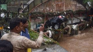 انڈیا، سیلاب، بارشیں، پونے، مہاراشٹر