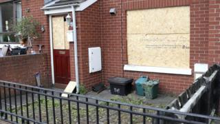The attack happened at a house on Thursday night