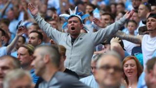 Coventry City fans at Wembley