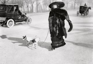 Anna la Pradvina, Bois de Boulogne, 1911