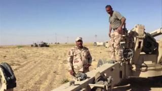 پیشمرگههای کرد کنترل منطقه کرکوک را به نیروهای عراقی دادند