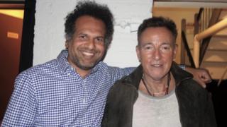 Sarfraz Manzoor and Bruce Springsteen