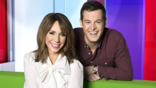 Alex Jones and Matt Baker present The One Show