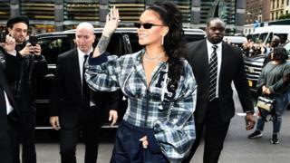 Rihanna, ici le 13 octobre 2017 à New York.
