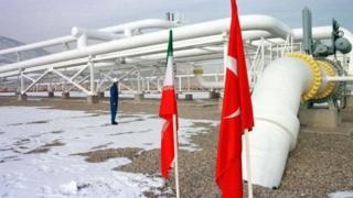 خط لوله گاز ایران ترکیه