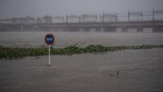 都内を流れる多摩川など複数の河川が氾濫した