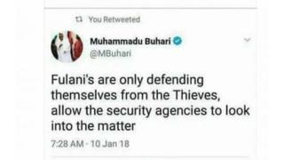 Shugaba Buhari ya bukaci masu amfani da shafukan zumunta su yi hattara da makaryata