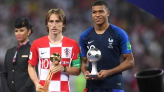 Modric and Mbappe