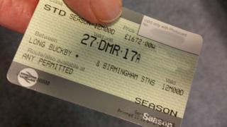 Annual season ticket