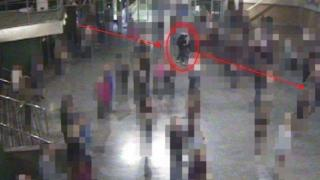 in_pictures Salman Abedi seconds before blast