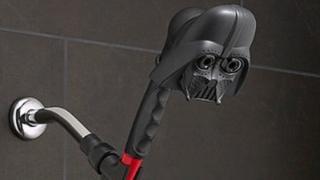 A Darth Vader showerhead - 14 December 2015